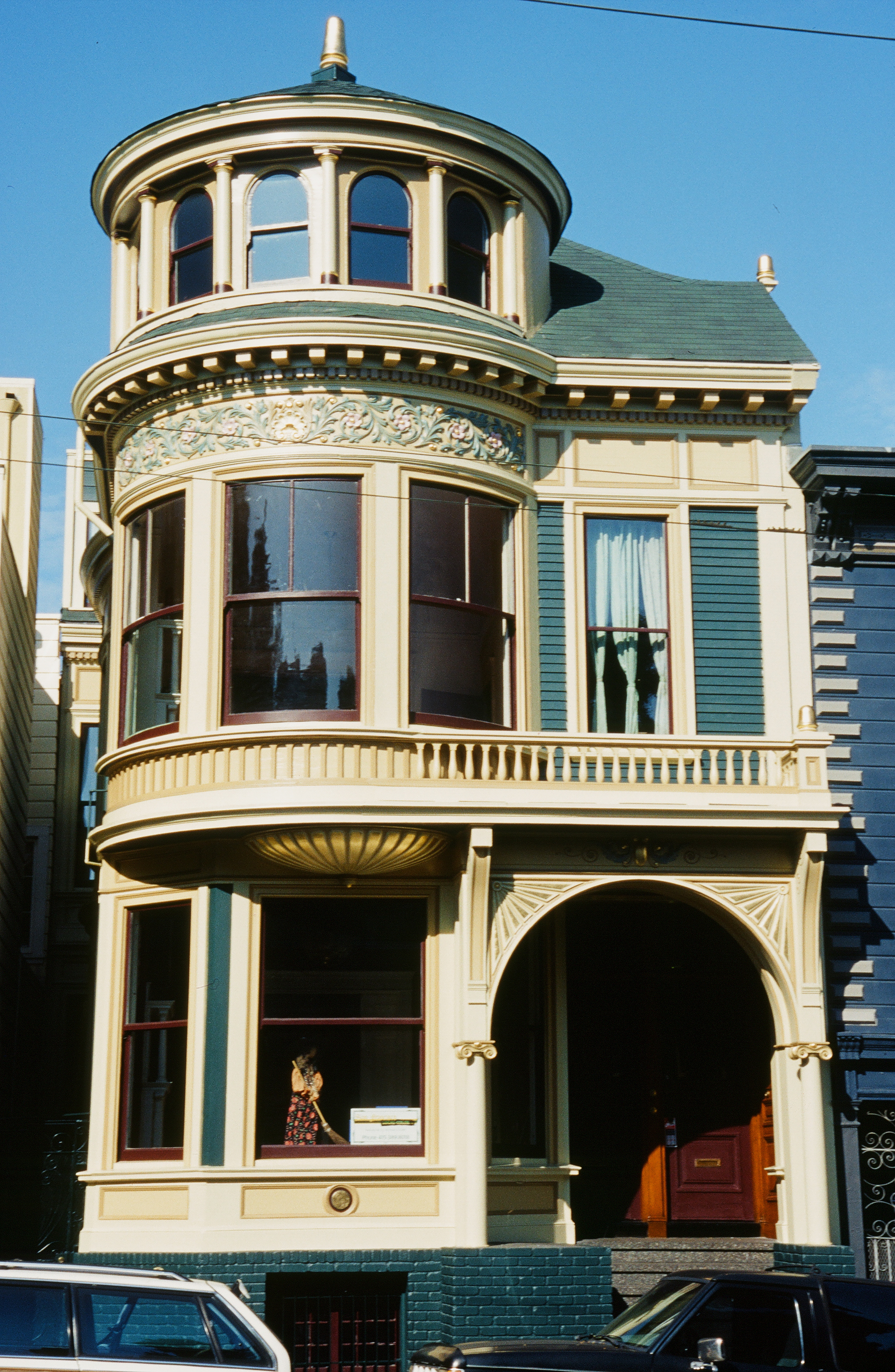 haight house painting san francisco local color